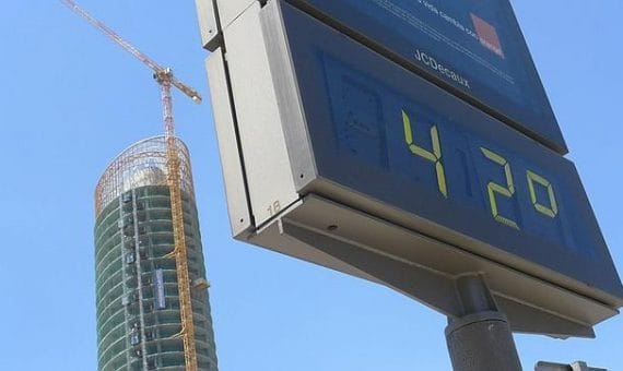 A España espera un agosto muy cálido