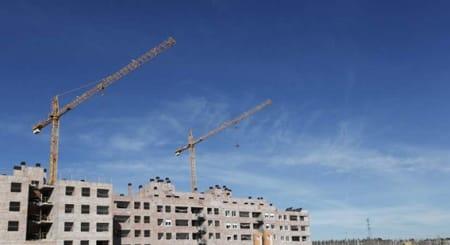 En España ayumenta la actividad en la construcción
