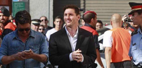 Messi es inocente!