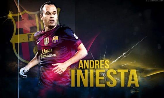 """Andrés Iniesta con el FC """"Barcelona"""" hasta el 2018"""