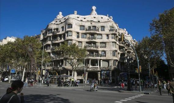 Restauración de la casa La Pedrera en Barcelona