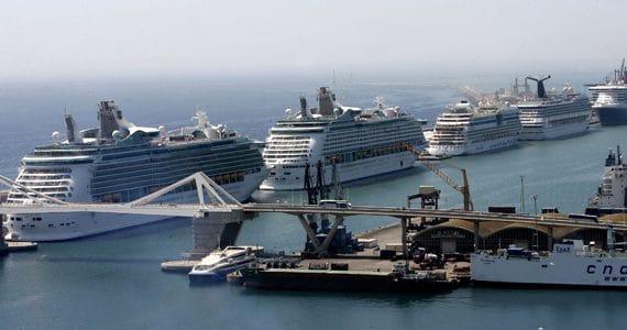 Barcelona es uno de los puertos más grandes del mundo