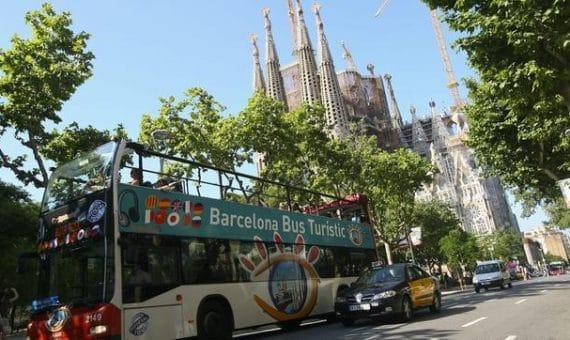 Cataluña ya ha recibido  10 % más de turistas que en 2013