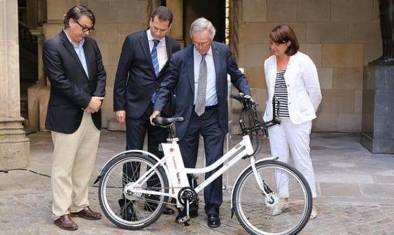 Las bicicletas eléctricas en Barcelona
