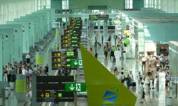 Aeropuerto de Barcelona alcanzó un máximo histórico
