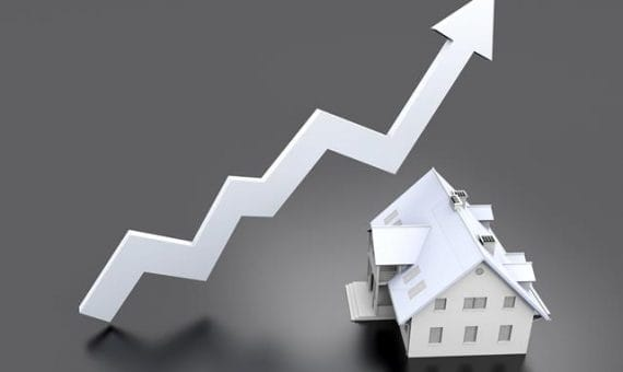 El crecimiento de las ventas de propiedades en España en junio 2014