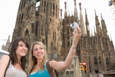 España recibió más turistas