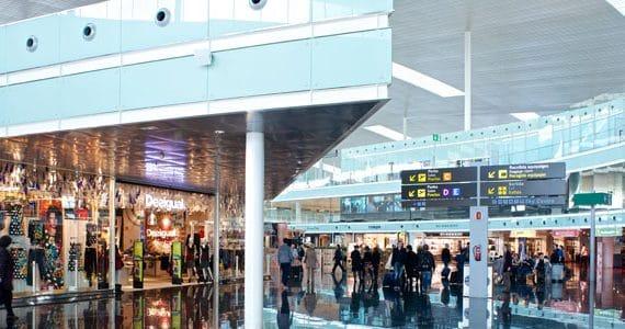Los ingresos comerciales aeropuerto de El Prat se incrementarán en un 50% en cinco años