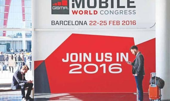 Mobile World Congress 2016 en Barcelona