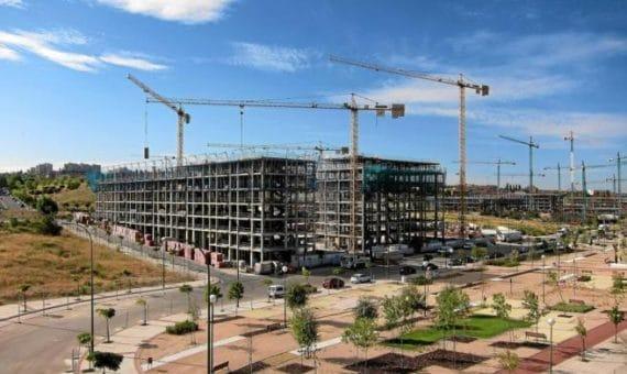 La actividad constructora ha bajado casi en toda Europa
