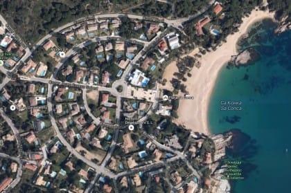 Venta de terreno con permiso de construcción en S'Agaró de Costa Brava
