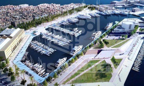 Edificio residencial reformado en venta con precioso dúplex con terraza privada en el barrio de la Barceloneta, junto al puerto | 4934-0-570x340-jpg