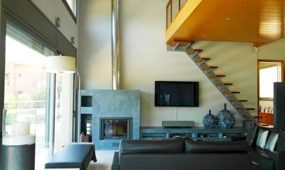 Moderno chalet en parcela de 2000 m2 en una zona residencial de prestigio en Sant Andreu de Llavaneres   7358-8-570x340-jpg