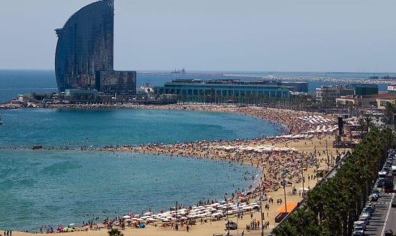 Número récord de turistas en España
