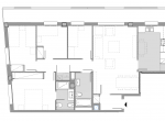 12798 – Alquiler de piso de 4 dormitorios de obra nueva en la zona de Les Corts | 17-plano-150x110-png