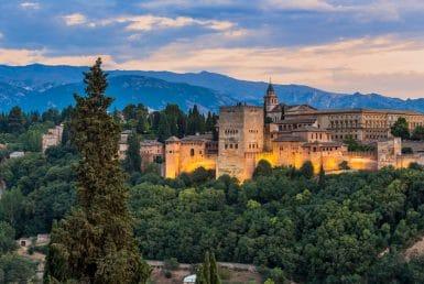Los famosos castillos de España